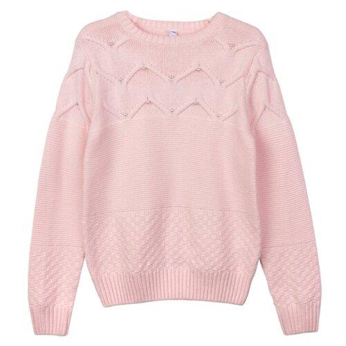 Купить Джемпер playToday размер 104, светло-розовый, Свитеры и кардиганы