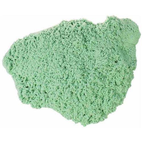 Купить Кинетический песок Космический песок Светящийся в темноте, мятный, 2 кг, пластиковый контейнер