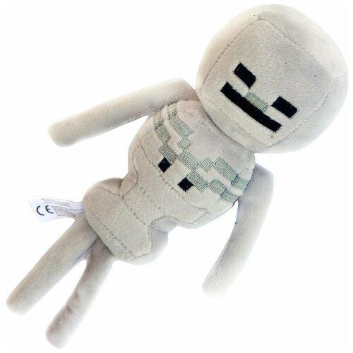 Мягкая игрушка MOJANG Плюшевый скелет из Minecraft 25 см