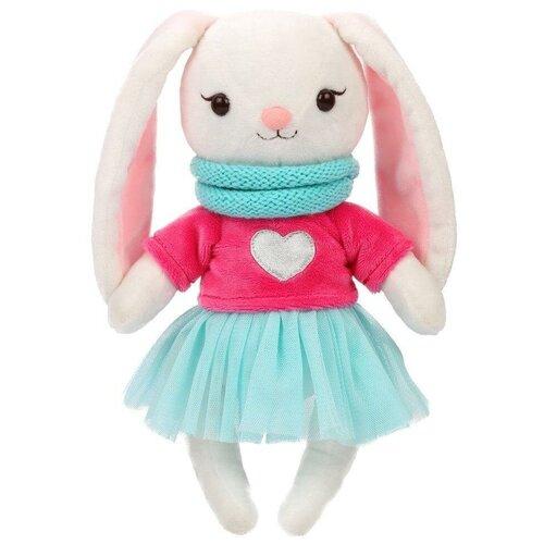 Мягкая игрушка Angel Collection Зайка Мишель в свитшоте 28 см