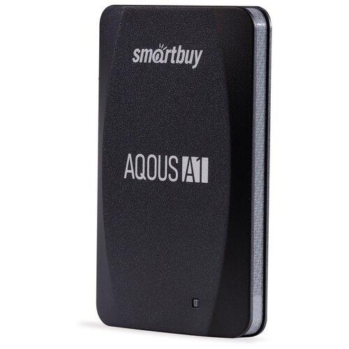 Фото - Внешний SSD Smartbuy Aqous A1 256GB USB 3.1 ЧЕРНЫЙ внешний ssd smartbuy aqous a1 512gb usb 3 1 серый