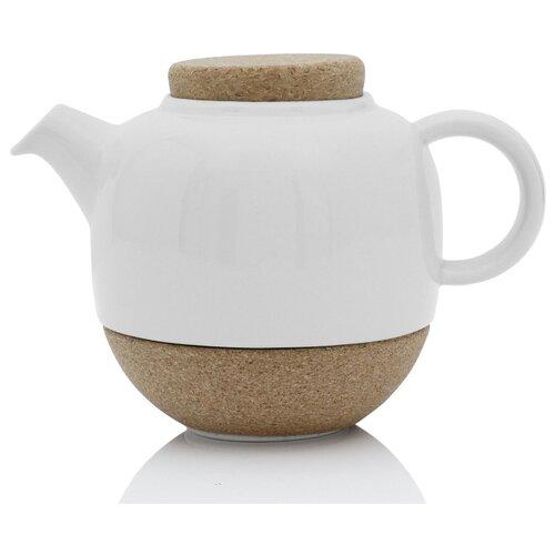 VIVA Scandinavia Заварочный чайник с ситечком Lauren V77702 800 мл, белый