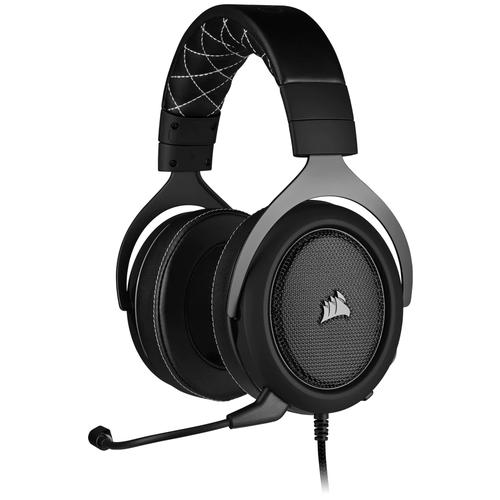 Фото - Компьютерная гарнитура Corsair HS60 Pro Surround Gaming Headset carbon компьютерная гарнитура corsair hs50 pro stereo gaming headset черный матовый