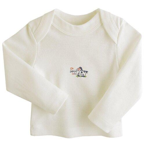 Купить Лонгслив Наша мама размер 86, молочный, Футболки и рубашки