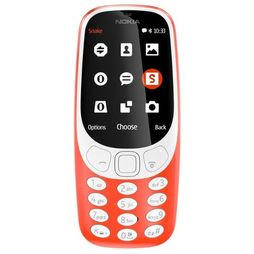 Фото - Телефон Nokia 3310 Dual Sim (2017), красный сотовый телефон nokia 3310 dual sim 2017 синий