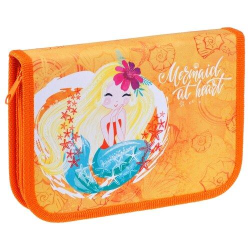 Купить ArtSpace Пенал Русалка (ПТ1_29068) оранжевый, Пеналы
