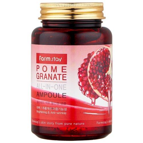 Farmstay All-In-One Pomegranate Ampoule Сыворотка для лица с экстрактом граната, 250 мл farmstay гель спрей для лица с экстрактом граната farmstay farmstay it s real pomegranate gel mist 120 мл