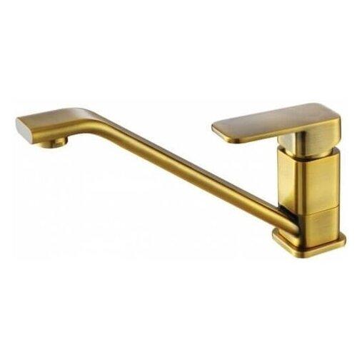 Фото - Смеситель для кухни (мойки) KAISER Sonat 34033-3 Bronze однорычажный светлая бронза смеситель для кухни мойки kaiser sonat 34044 5 однорычажный
