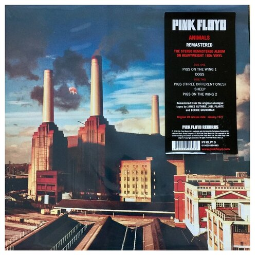 Pink Floyd. Animals (LP) pink floyd pink floyd the dark side of the moon lp