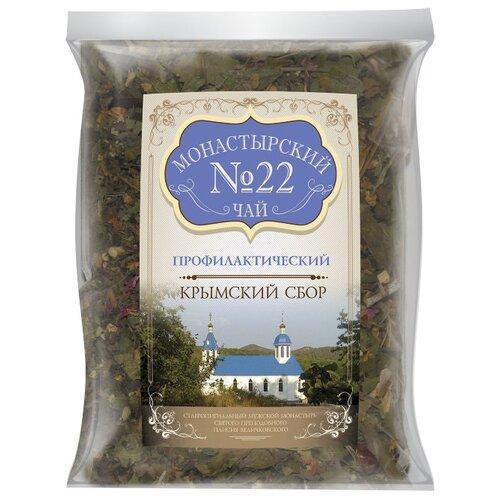 Фото - Чай травяной Крымский чай Монастырский № 22 Профилактический, 100 г чай травяной aroma монастырский 100 г