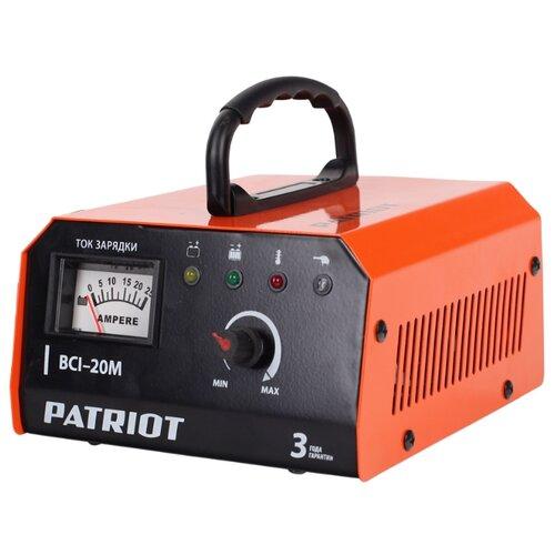 Фото - Зарядное устройство PATRIOT BCI-20M черный/оранжевый автомобильное зарядное устройство patriot bci 10a
