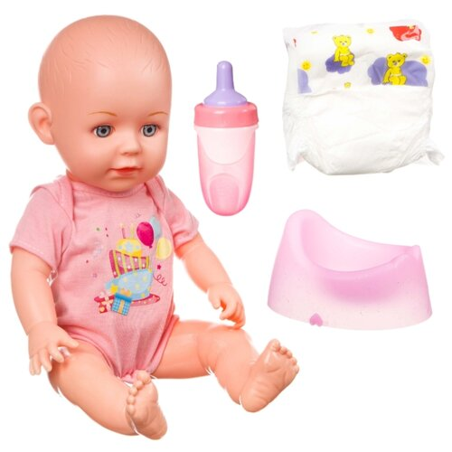 Фото - Интерактивный пупс BONDIBON OLY, 36 см, ВВ4258 интерактивный пупс joy toy маленькая ляля 058 19r