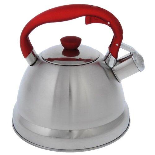 Vetta Чайник Верда 847067 2 л серебристый/красныйЧайники<br>