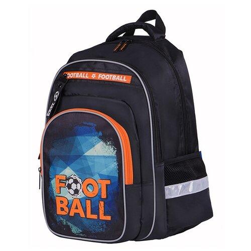 Купить Berlingo рюкзак Ergo Football, оранжевый/синий/черный, Рюкзаки, ранцы