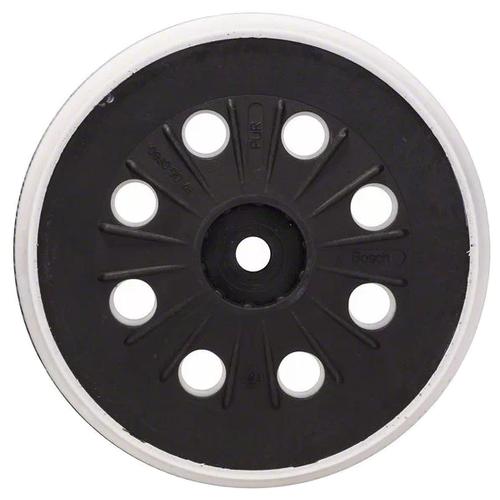 Тарелка для УШМ на липучке BOSCH 2608601607 125 мм 1 шт тарелка для ушм практика 038 524 125 мм 1 шт