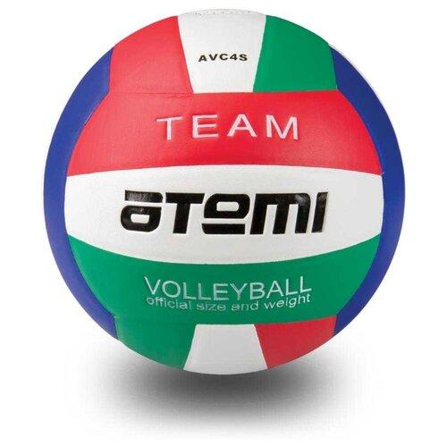 Волейбольный мяч ATEMI Team красный/белый/синий/зеленый