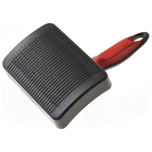 Щетка-пуходерка Hello PET 32361L черный/красный
