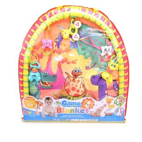 Купить Развивающий коврик Наша игрушка Динозаврики (8801-44), Развивающие коврики