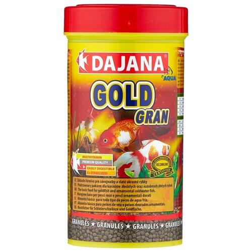 Сухой корм для рыб Dajana Pet Gold Gran 250 мл 110 г idlamp 258 258 8 gold