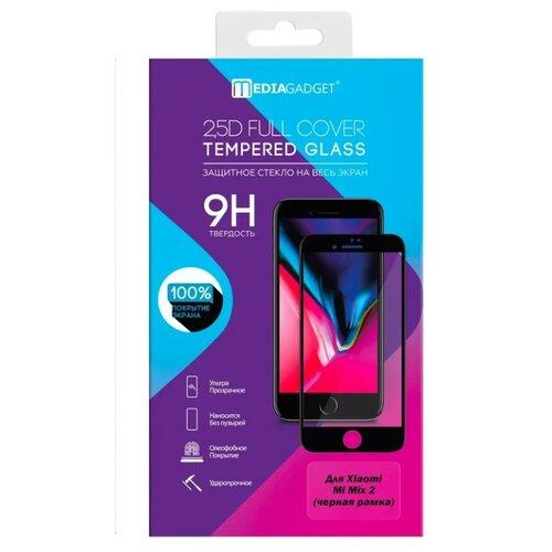 Защитное стекло Media Gadget 2.5D Full Cover Tempered Glass для Xiaomi Mi Mix 2 черный