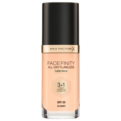 Max Factor Тональный крем Facefinity All Day Flawless 3-in-1, 30 мл, оттенок: 42 Ivory недорого