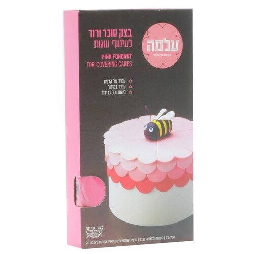 Фото - ALMA мастика сахарная 750 г розовый мастика гандбольная trimona handballwax