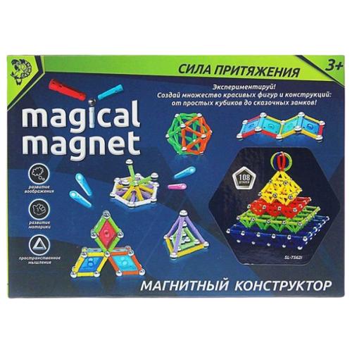 Магнитный конструктор Забияка Magical Magnet 1387364-108 Необычные фигуры