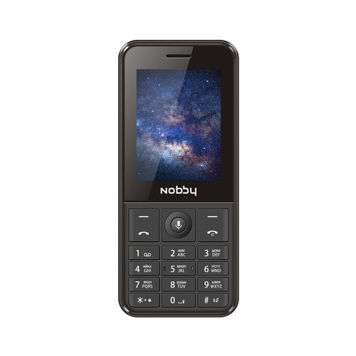 Телефон Nobby 240 LTE черный (NBC-BP-24-411)