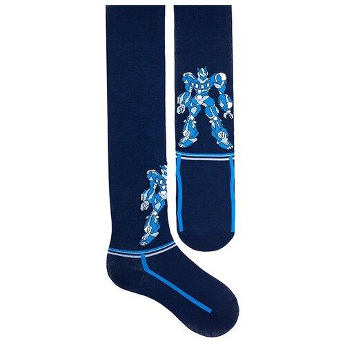 Колготки Капризуля 122С8 размер 116-122, 3-1 темно-синий  - купить со скидкой
