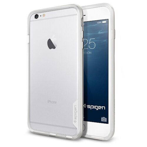 Фото - Чехол-накладка Spigen Neo Hybrid EX для Apple iPhone 6 Plus/iPhone 6S Plus (SGP-110) satin silver чехол накладка bengamins bj6pfcup для apple iphone 6 plus iphone 6s plus cupcake soft foam