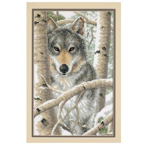 Фото - Dimensions Набор для вышивания Зимний волк 36 x 23 см (03228) набор для вышивания dimensions 03896 уютное укрытие46 x 23 см