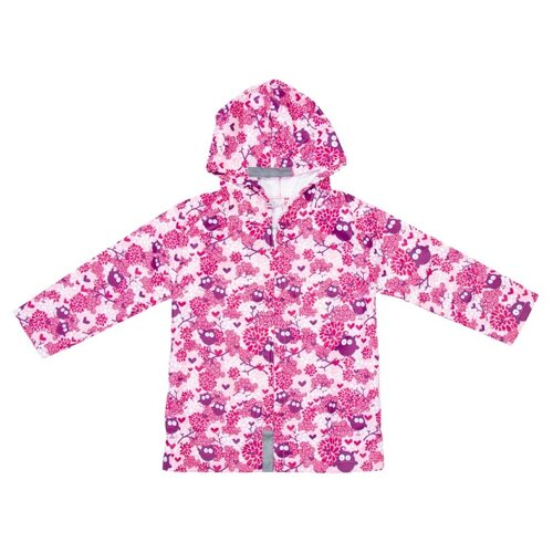 Дождевик КОТОФЕЙ 07851045-40 размер 98-104, розовый босоножки котофей размер 29 золотой розовый