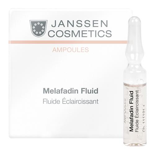 Купить Janssen Cosmetics Ampoules Melafadin Fluid Осветляющие ампулы для лица, 2 мл (7 шт.)