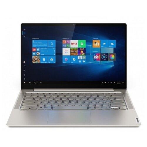 "Ноутбук Lenovo Yoga S740-14IIL (Intel Core i5 1035G4 1100MHz/14""/3840x2160/16GB/512GB SSD/DVD нет/Intel Iris Plus Graphics/Wi-Fi/Bluetooth/Windows 10 Home) 81RS007DRU бежевый"