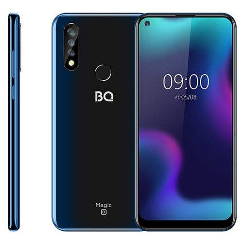 Смартфон BQ 6424L Magic O темно-синий смартфон bq bq 6040l magic black