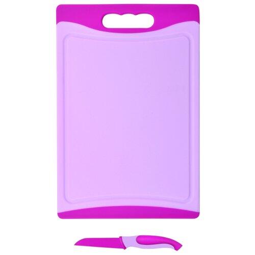 Разделочная доска Bohmann BH 5212 29х20х0,8 см розовый