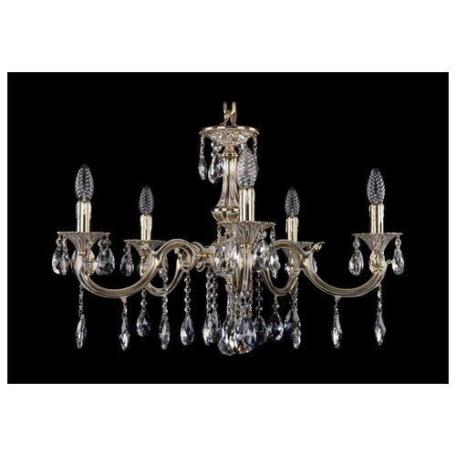 Люстра Bohemia Ivele Crystal 1702 1702/5/250/A/GW, E14, 200 Вт бра bohemia ivele crystal 1610 1610 3 gw