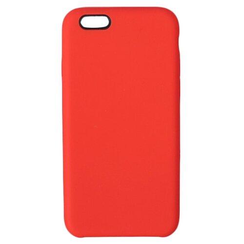 Купить Чехол-накладка LuazON силиконовый для Apple iPhone 6/iPhone 6S красный