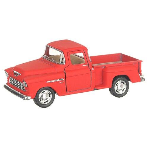 Купить Детская инерционная металлическая машинка с открывающимися дверями, модель Chevrolet Nomad hardtop матовый, красный, Serinity Toys, Машинки и техника