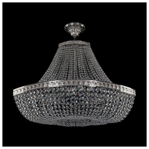 Люстра Bohemia Ivele Crystal 1911 19113/H1/80IV Ni, E14, 480 Вт bohemia crystal люстра bohemia crystal 1911 45 z ni
