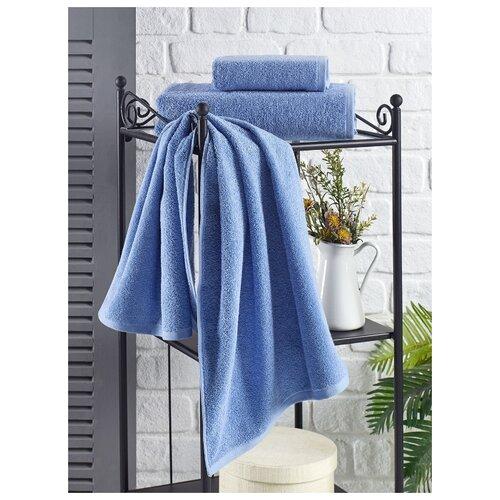 Полотенце махровое Karna. Efor, 70х140 см, цвет голубой