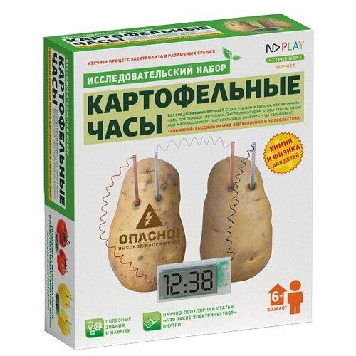 Купить Набор ND Play Картофельные часы, Наборы для исследований