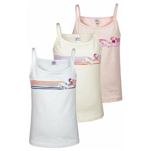 Купить Майка BAYKAR размер 146/152, белый/молочный/розовый, Белье и купальники
