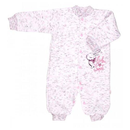 Комбинезон Веселый Малыш размер 68, розовый