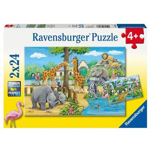 Купить Набор пазлов Ravensburger Добро пожаловать в зоопарк (R07806), Пазлы