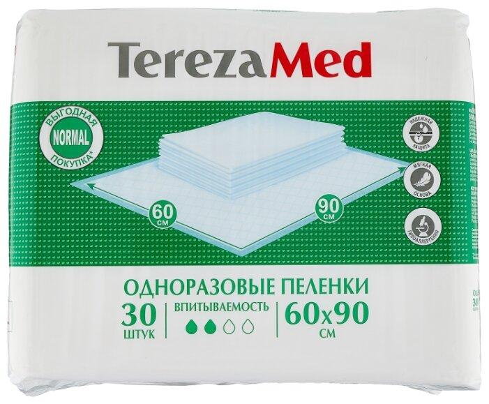 Пеленки Tereza Med Normal 90102, 60 х 90 см (30 шт.)