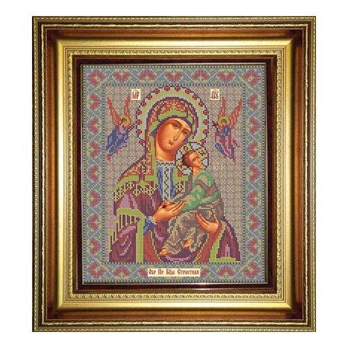 Купить Набор для вышивания бисером Икона Божией Матери Страстная 26 х 31 см И039, Galla Collection, Наборы для вышивания