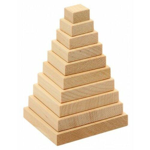 Фото - Пирамидка Теремок (Пелси) Квадрат развивающая пирамидка теремок умка