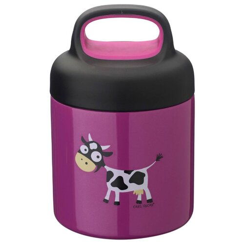 Термос для еды Carl Oscar LunchJar Cow (0.3 л) фиолетовый недорого