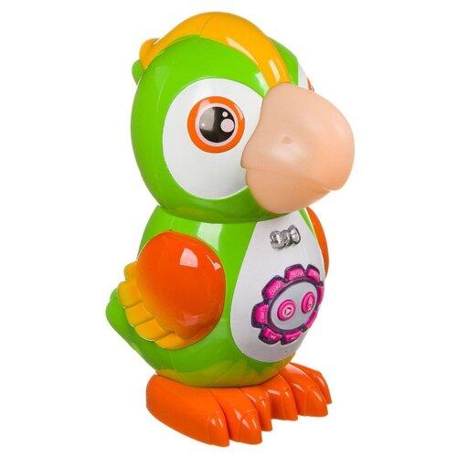 Развивающая игрушка BONDIBON Умный попугай зеленый/желтый/оранжевый шторы рулонные ролло идея рулонная штора ролло lux samba цветы зеленый оранжевый желтый 160 см